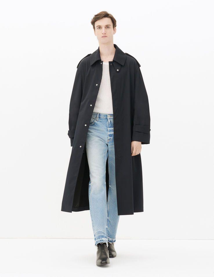 Coltrane Overcoat - Coats - Sandro-paris.com