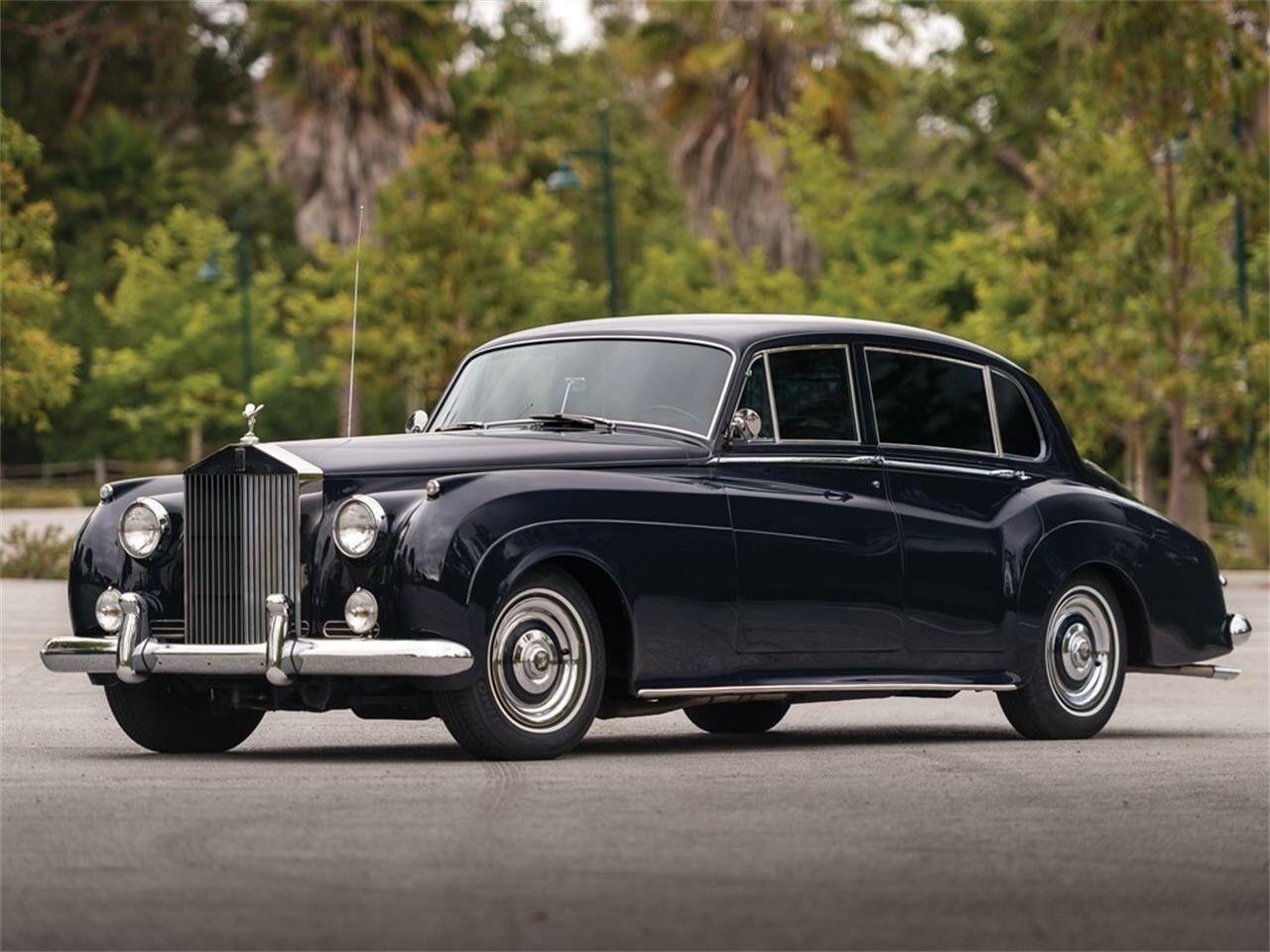 1961 Rolls Royce Silver Cloud Ii Long Wheelbase Saloon Avtomobili