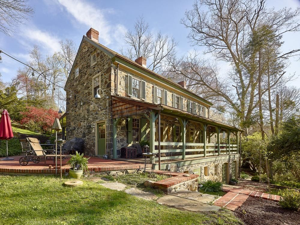 c. 1785 Farmhouse For Sale in Media, Pennsylvania