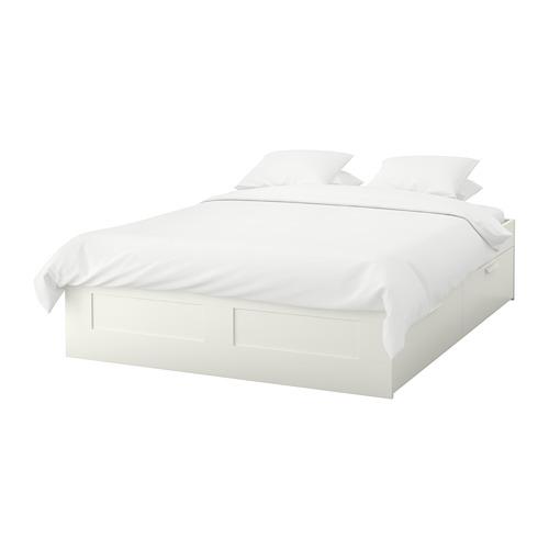 Brimnes Bettgestell Mit Schubladen Weiss Ikea Deutschland Bed Frame With Storage Brimnes Bed Bed Frame