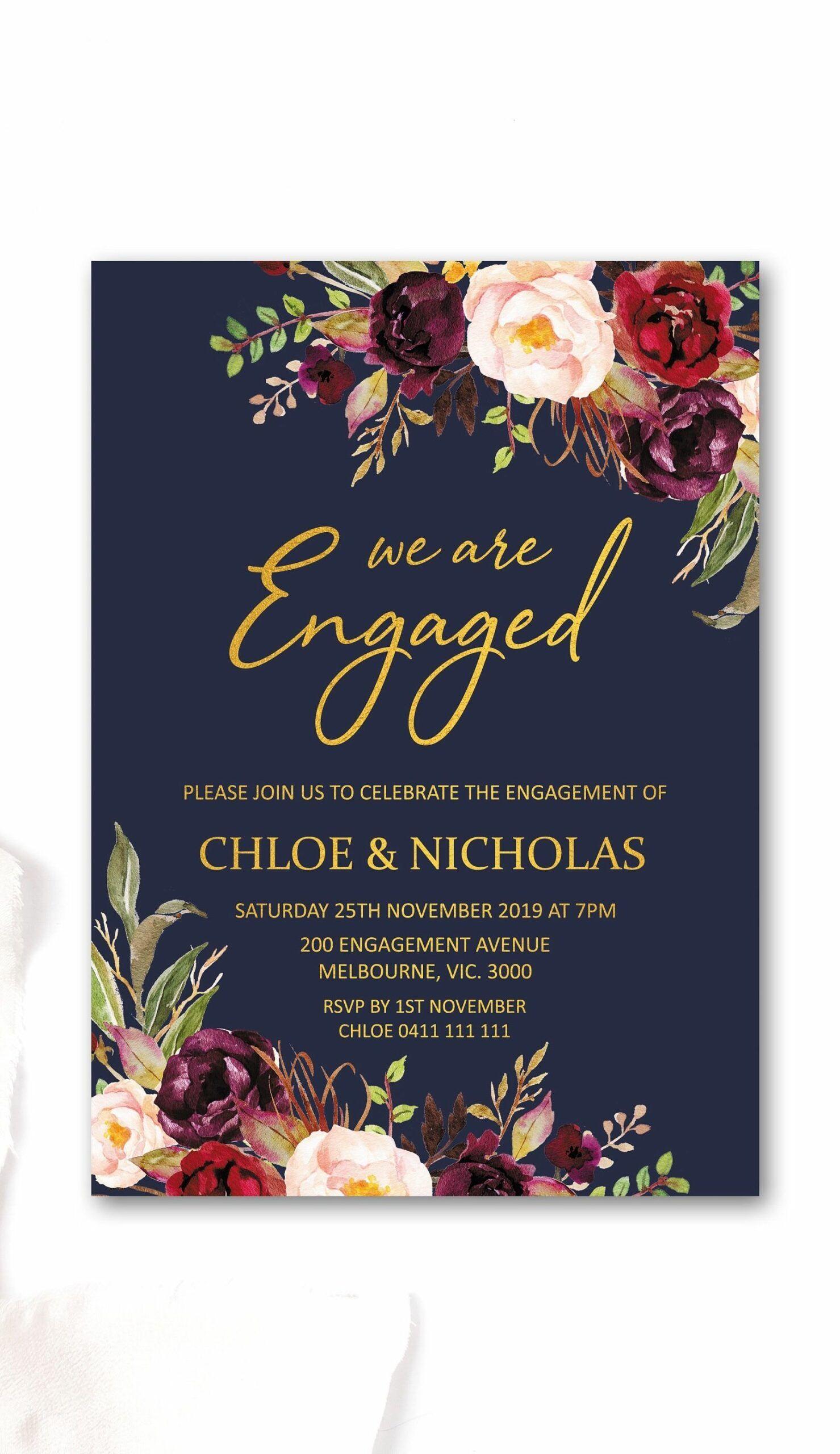 10 Top Invitation Card Engagement Engagement Party Invitations Engagement Invitation Cards Printable Engagement Party Invitations