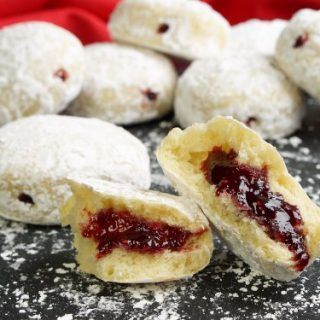 Photo of Baked Paczki (Polish Donuts) • Curious Cuisiniere