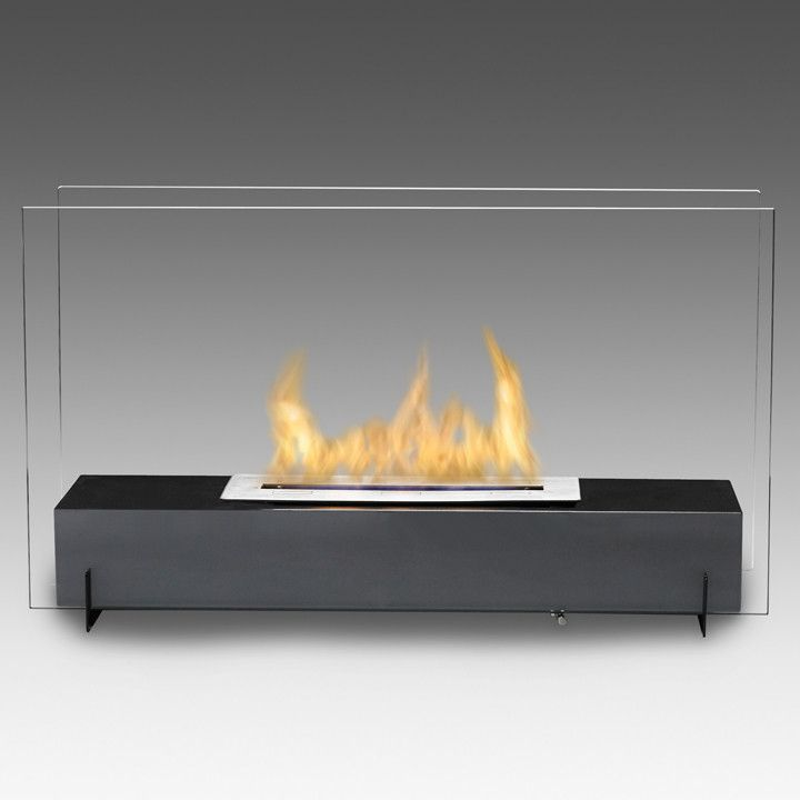 Eco Feu Vision I 29 Free Standing Ethanol Fireplace In 2020