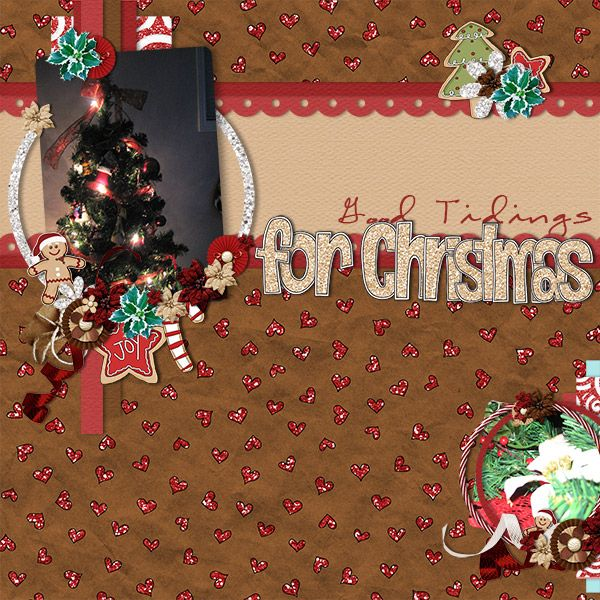 Good Tidings for Christmas by Jennifer. Kit used: Christmas Cookies by HotFlash Designs http://scrapbird.com/designers-c-73/d-j-c-73_515/hotflashdesigns-c-73_515_558/christmas-cookies-2-p-17489.html