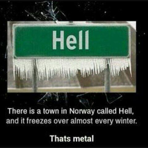 Norway is Hell #hell #norway #heavymetal #satan #lucifer