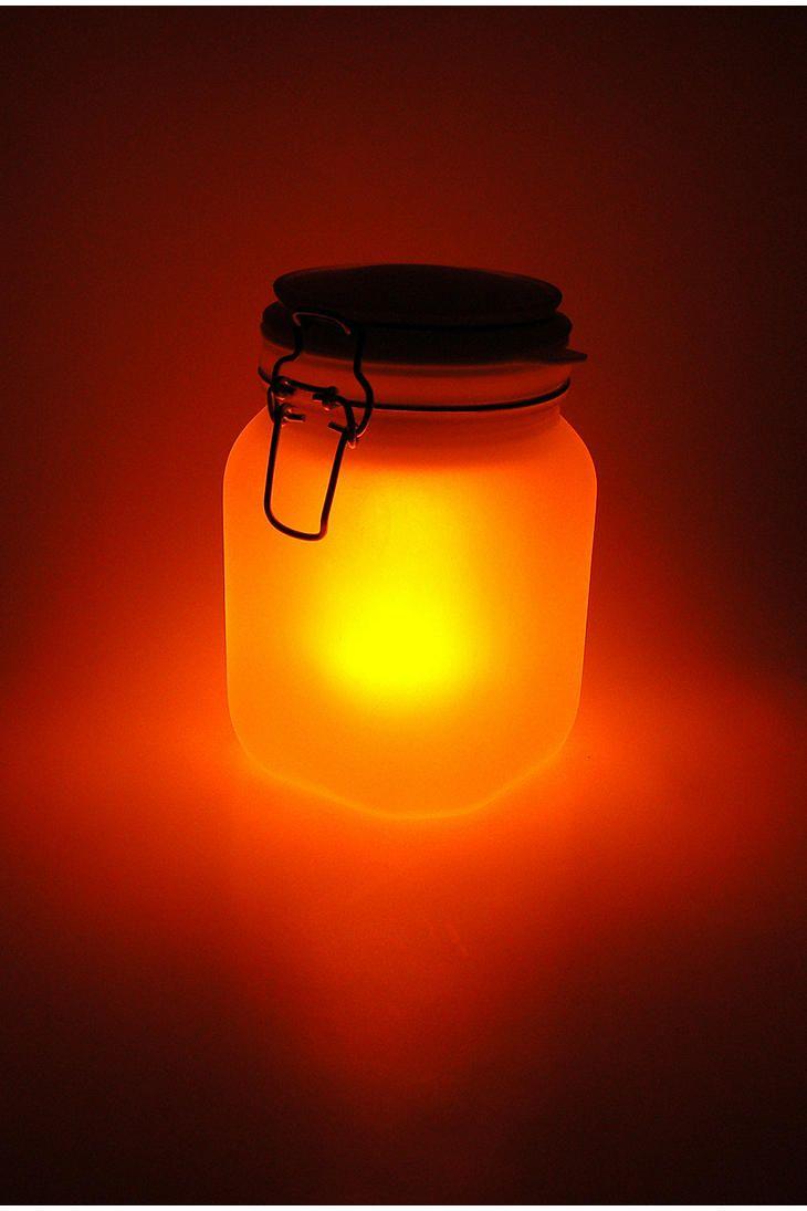 Sun jar solarpowered light home life pinterest solar lights