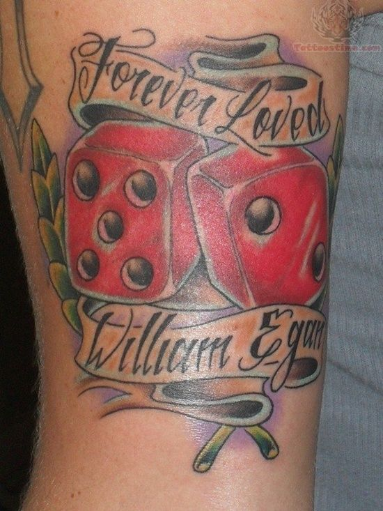 Dice Tattoo Designs The Dice Tattoo Meaning And Ideas Tattooeve