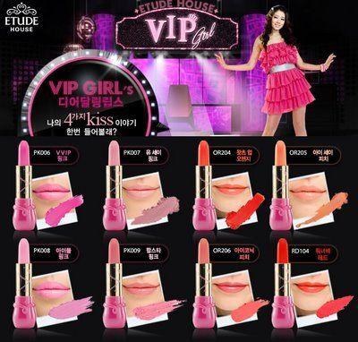 VIP girl Dear Darling Lips