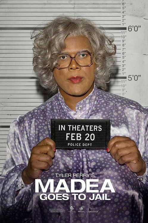 Madea Goes to Jail Movie Poster 2 | Tyler perry movies ...