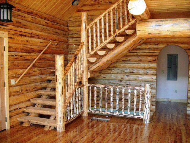 Best Log Stairways Stairways House Stairs Stairway To Heaven 640 x 480