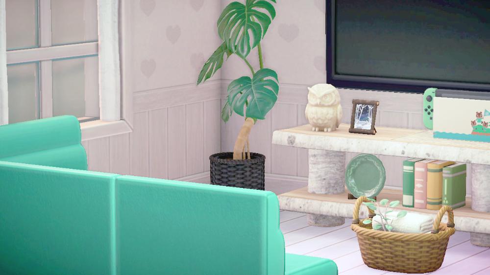 pastelia in 2020 | New animal crossing, Animal crossing ... on Animal Crossing Living Room Ideas  id=71704