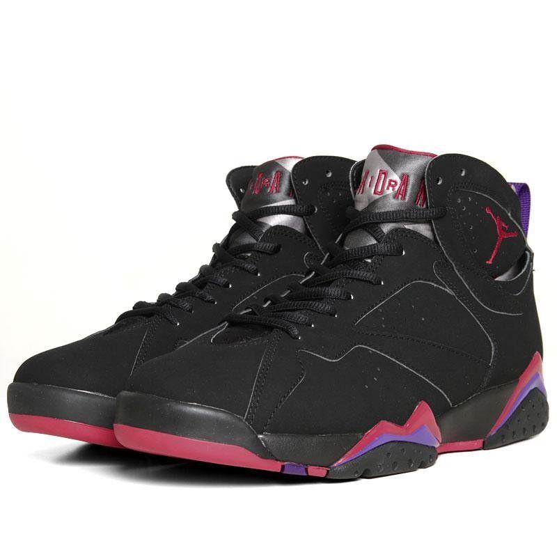 Nike Air Jordan VII Retro 'Raptors' Black   Chaussures air jordan ...