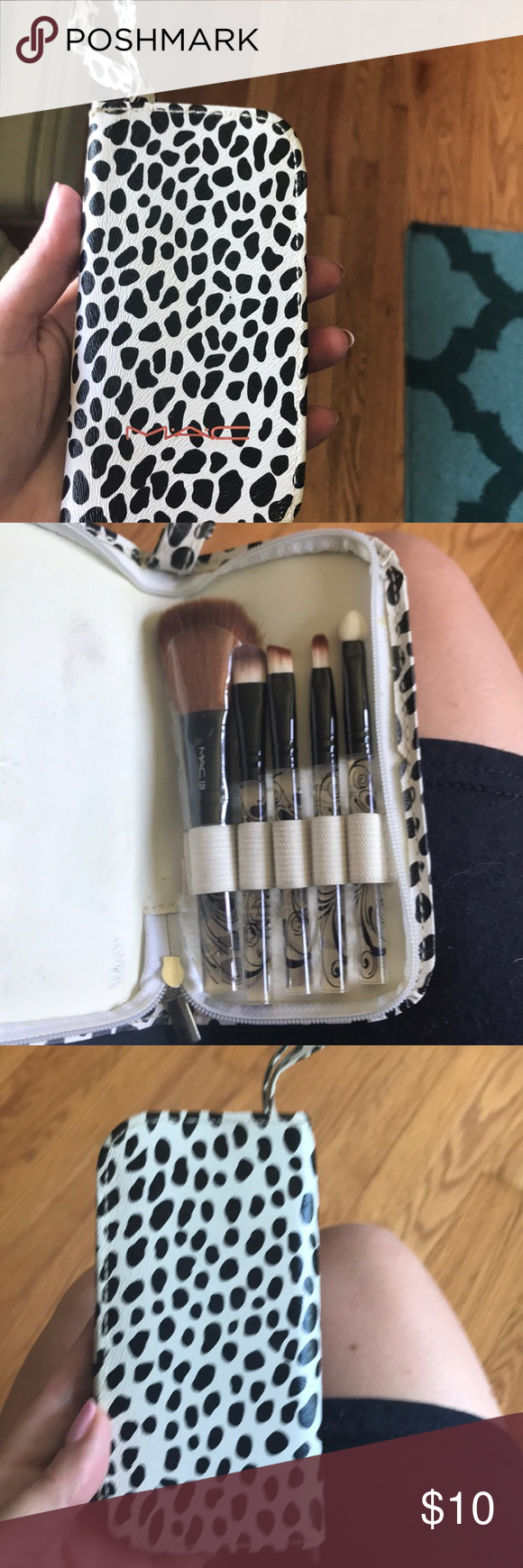 MAC travel make up brush set Makeup brush set, Makeup