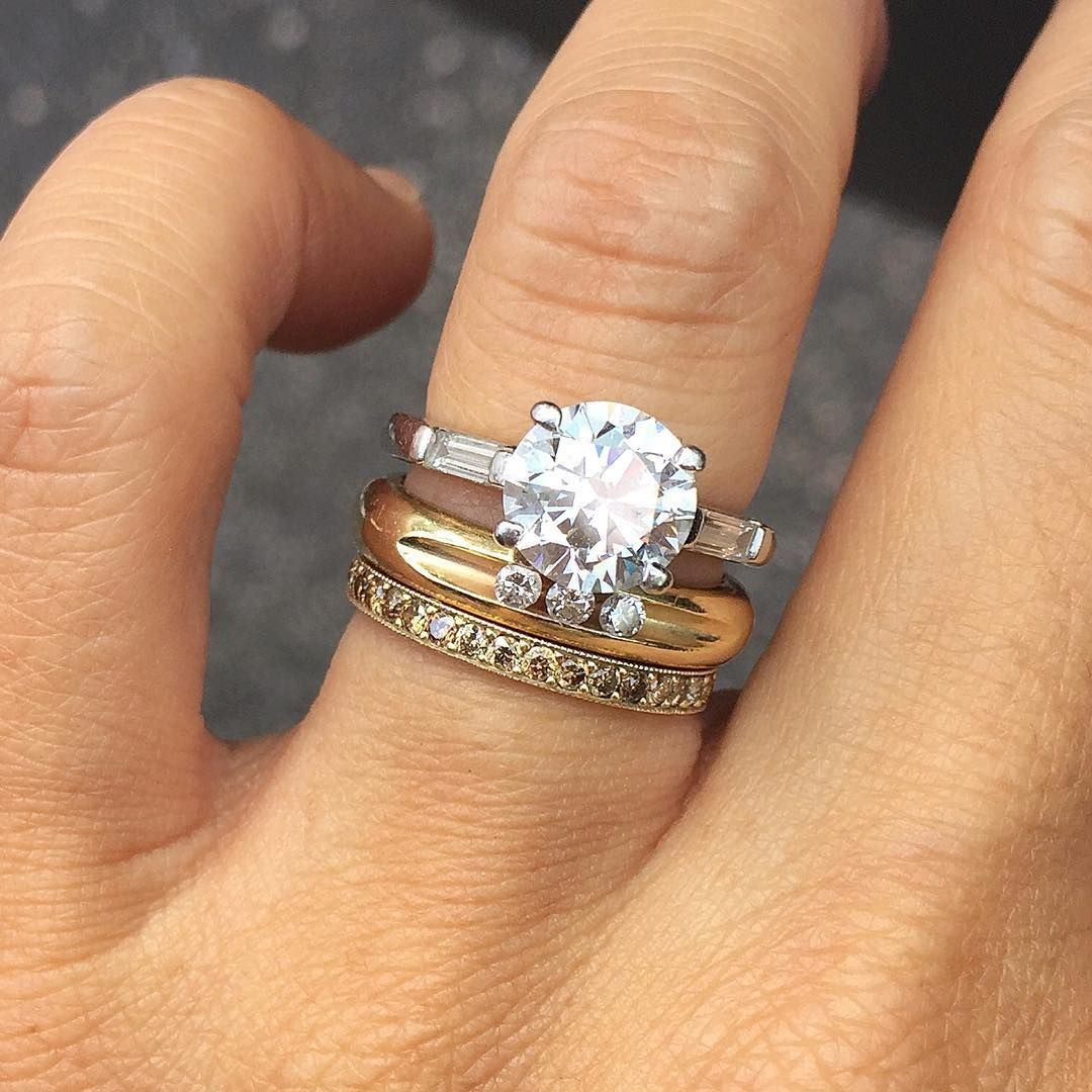 The 17 Best Wedding And Engagement Rings To Mix Stack Your Heart S Desire