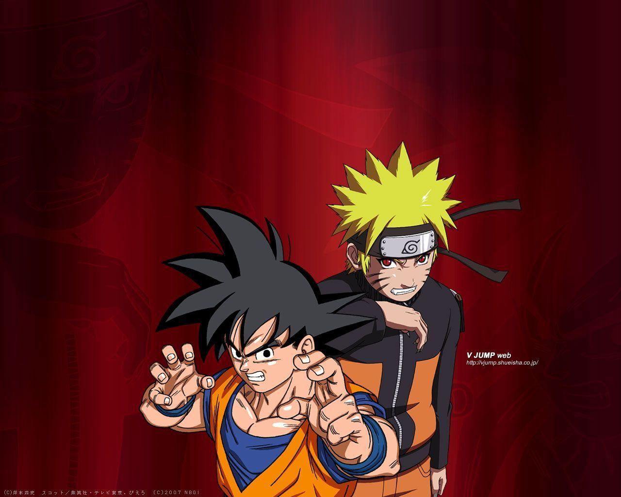 Goku And Naruto Wallpapers Wallpaper Cave Naruto Wallpaper