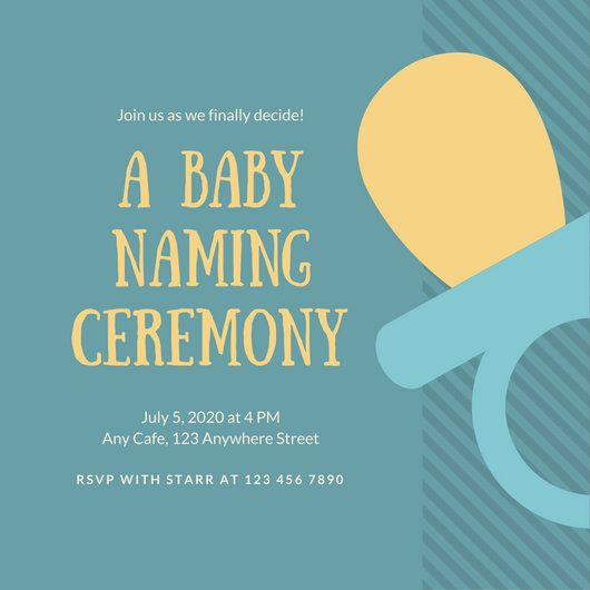 Red and blue baby naming ceremony invitation naming ceremony red and blue baby naming ceremony invitation stopboris Image collections