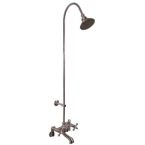 Exposed Pipe Shower U0026 Tub Faucet With Watering Can Showerhead. Same Site As Bath  Tub