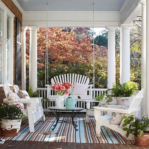 Another Nice Porch Scene. Source: Bhg.com
