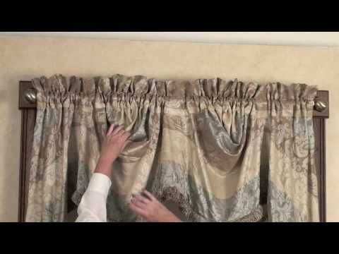 Empire Valance - YouTube Curtains Pinterest An, Watches and