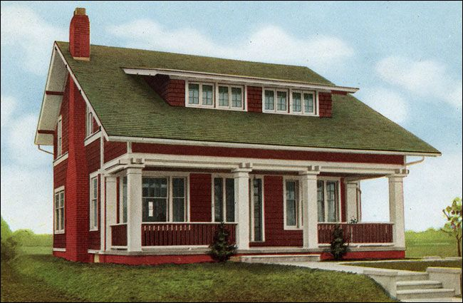 Best The Arlington 1916 Sterling System Homes With Its Broad 400 x 300