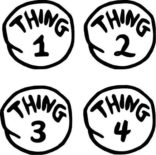 Thing 1 And Thing 2 Dr Seuss Font Cricut Free Thing 1