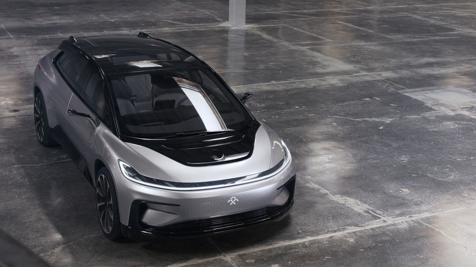 Faraday Future Launches Its First Electric Car The Ff 91 Faraday Future Car Concept Cars