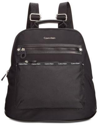 CALVIN KLEIN Calvin Klein Dressy Nylon Backpack.  calvinklein  bags  leather   lining  nylon  backpacks   4c97f67fe4ad4