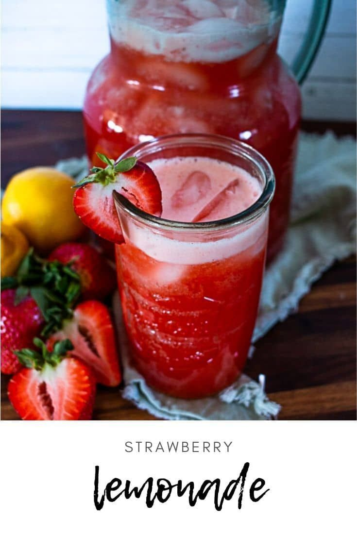 Strawberry Lemonade • Longbourn Farm
