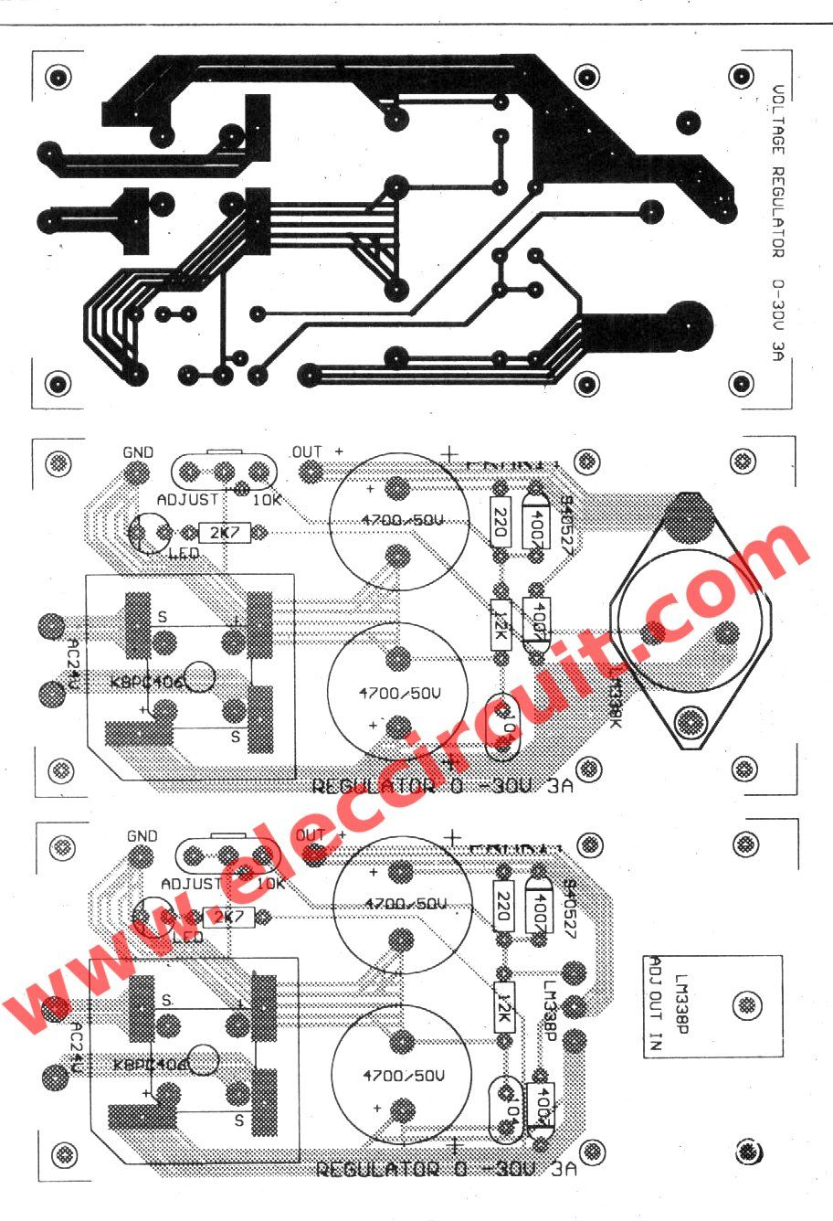 lm338 adjustable power supply 5a