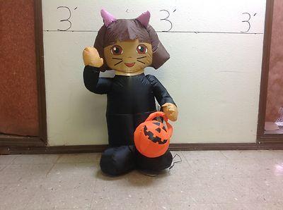 PROTOTYPE Gemmy Airblown Inflatable Halloween Dora In Cat Costume 63039