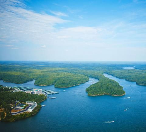 In the heart of Missouri's lake country, three different destinations—Table Rock Lake, Lake of the Ozarks and Pomme de Terre Lake—provide summer vacations to suit every taste.
