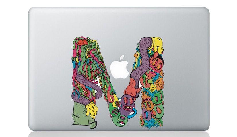 Creative Decals Etsy Luxury Macbookpro Stickers Vinyls