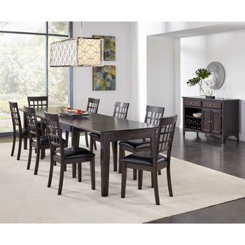 Alec 10 Piece Dining Set Dining Table Dimensions Dining Set 7 Piece Dining Set