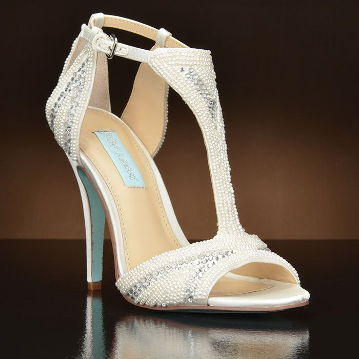 a3614f9dc8c I Do by Betsey Johnson. Choose from the largest selection of wedding shoes  from top designers at My Glass Slipper. In-stock styles ship same day.