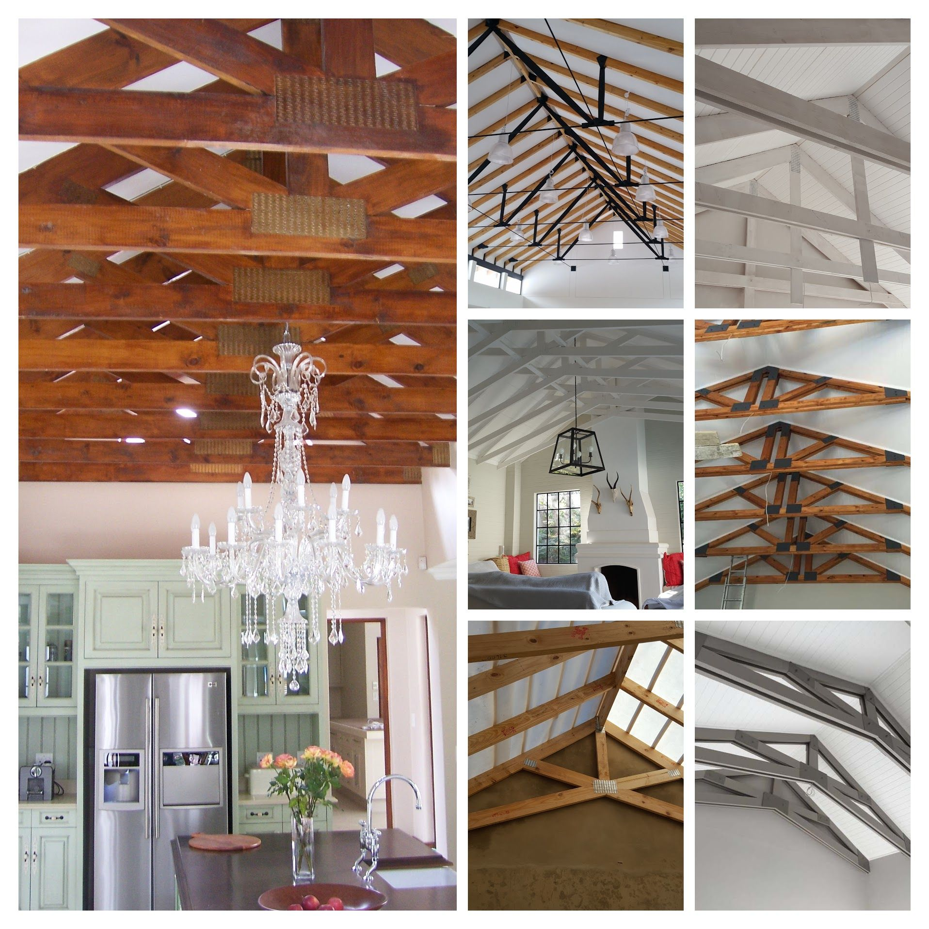 Exposed Roof Trusses Designed To Support And To Be Seen