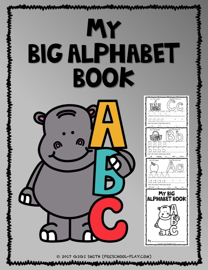 Printable Alphabet Book