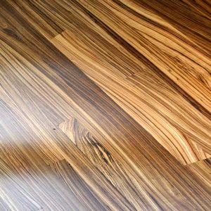 Exotic Hardwood Flooring old world rustic look circular sawn eastern white pine Zebra Wood Flooring