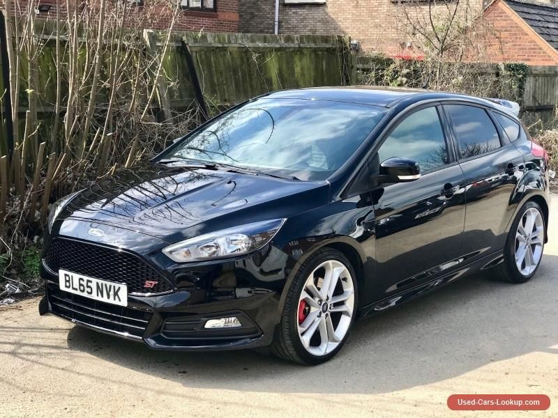 Car For Sale 2015 Ford Focus St 2 St Diesel Black Tdci 2 0