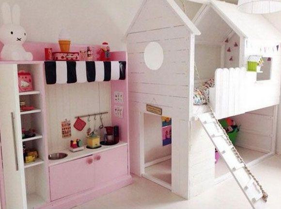 Slaapkamer Pimpen Ikea : 15 x inspiratie om het ikea kura bed zelf te pimpen girl rooms