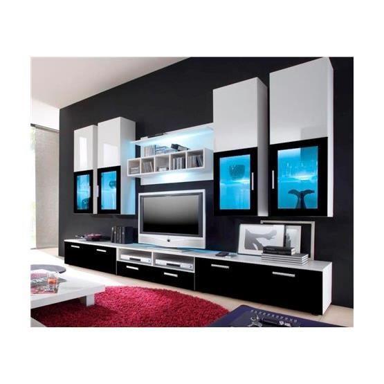 BonsPlans #Meubles #Cdiscount ❤ #Meuble #tv #design #Hydra blanc ...