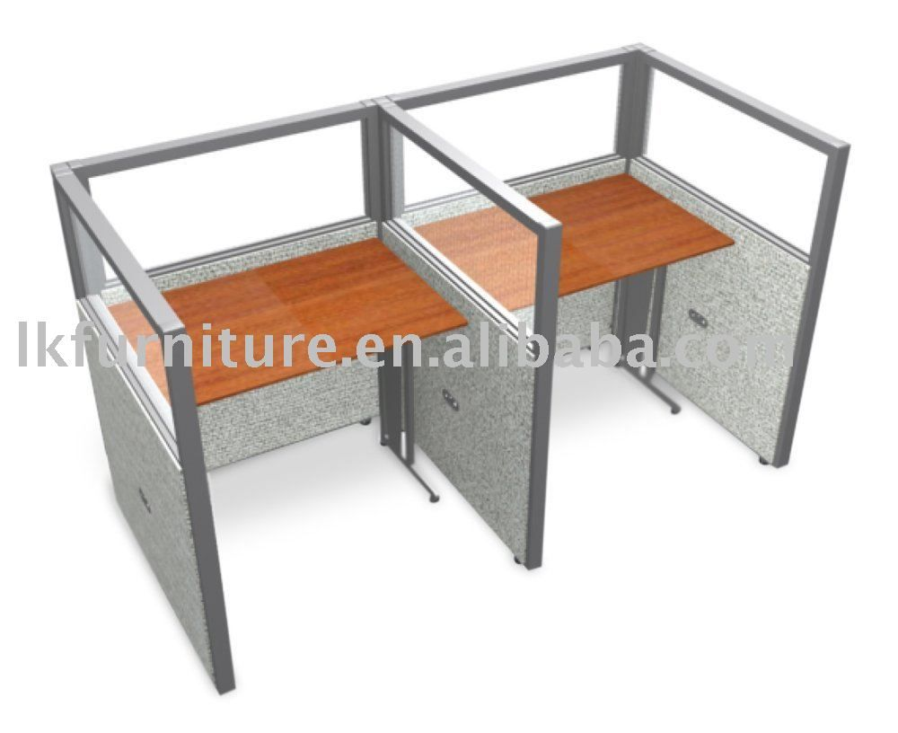 Top Quality Aluminium Profile Office Cubicle With Glass Panels Buy Aluminium Profile Office Cubicle Cubicle Product On Ofm Used Office Furniture Grey Panels