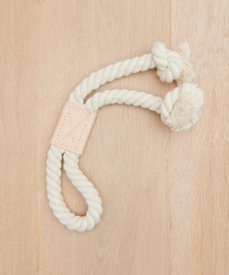 Leather Rope Toy Natural Dog Toys For Boredom Pet Gifts Dog