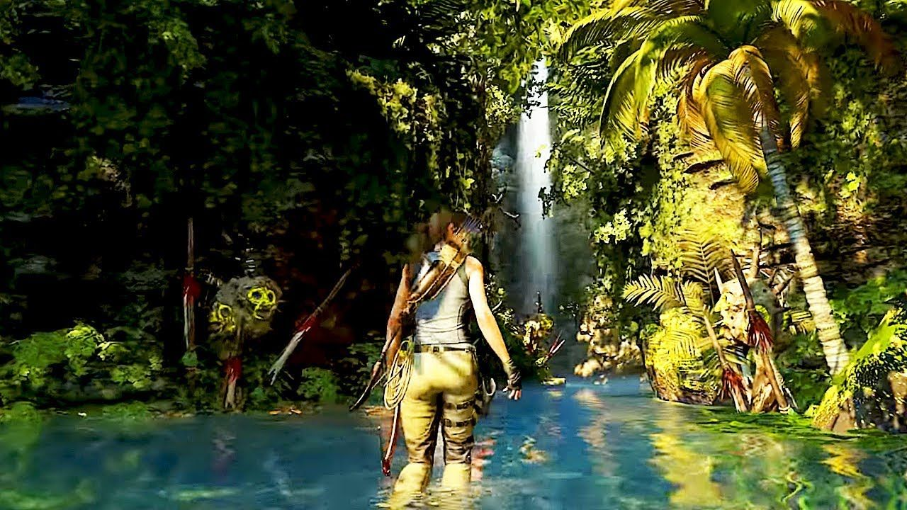 Shadow Of The Tomb Raider Jungle Gameplay New Demo Walkthrough