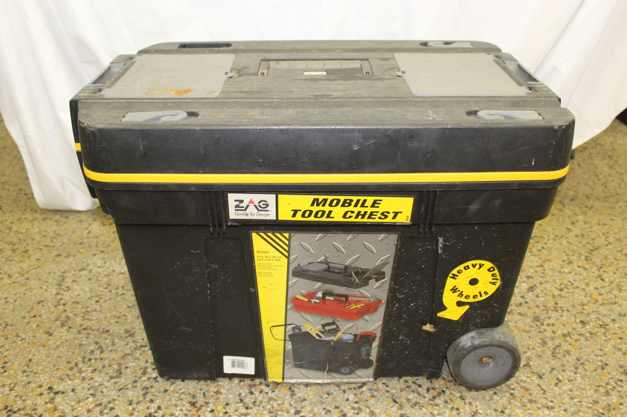 Zag Mobile Tool Box Chest On Wheels Products Pinterest