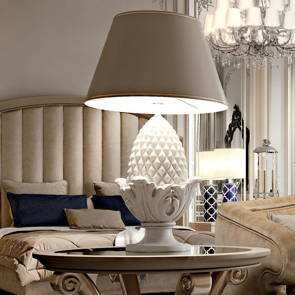fashionable-lamp-shades-for-table-lamps-silver-table-lamps-living ...