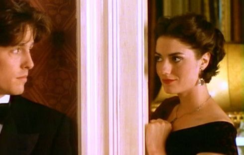 Anna Chancellor As Henrietta Duck Face With Hugh Grant In Four Weddings And A Funeral Film Inspirational Women Student Fashion British Women