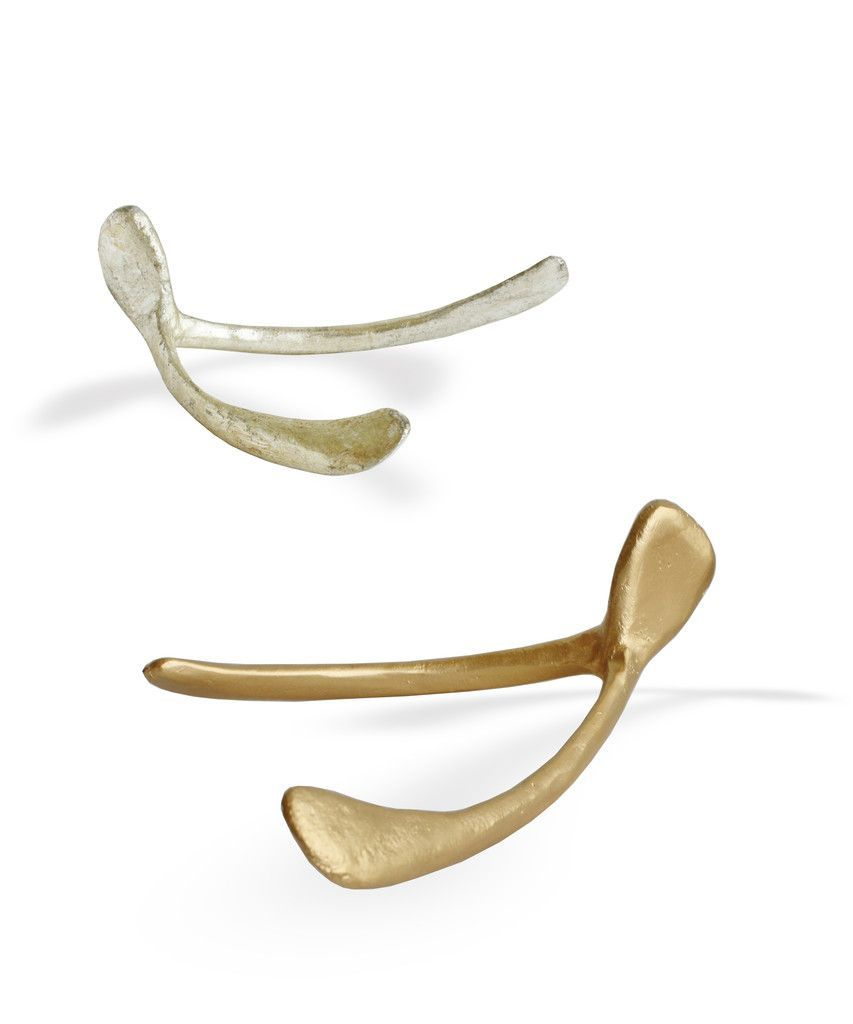 Large Wishbone Gold Or Silver
