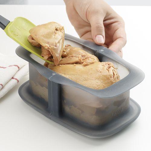 Terrine springform pan with ceramic plate