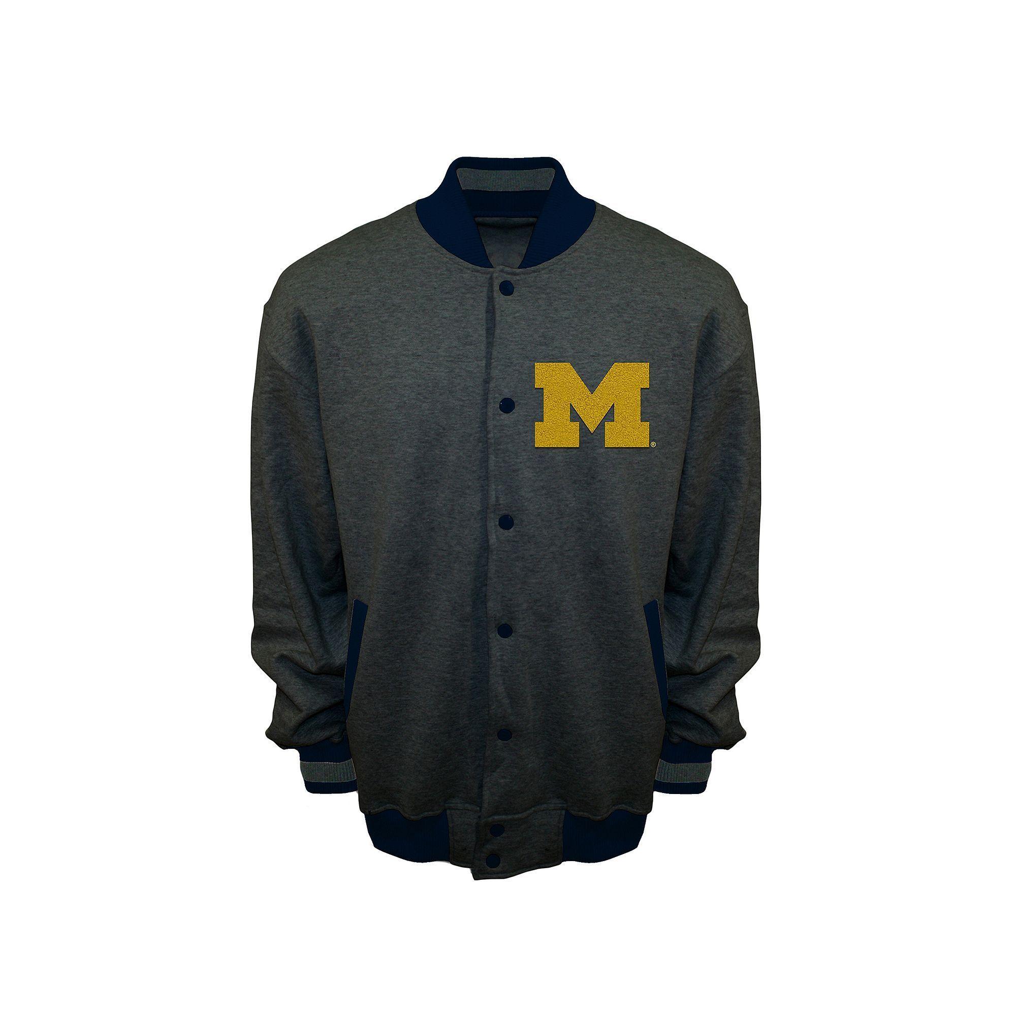 Menus franchise club michigan wolverines classic fleece jacket size