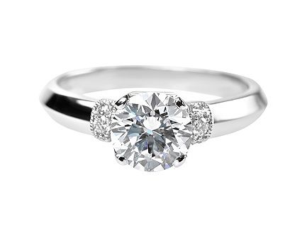 engagement ring rings mercury platinum products
